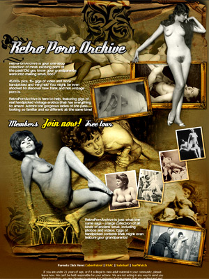 Find out how they fucked decades ago - Retro Porn Archive gives you hours of pleasure with its unmatched collection of vintage porn and retro smut. Retro pornstars and perfectly natural amateurs pose, play, spank, fuck and more! You have a unique chance to witness entire porn industry emerging.